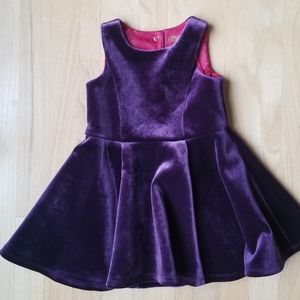 Genuine Kids Velour special occasion dress